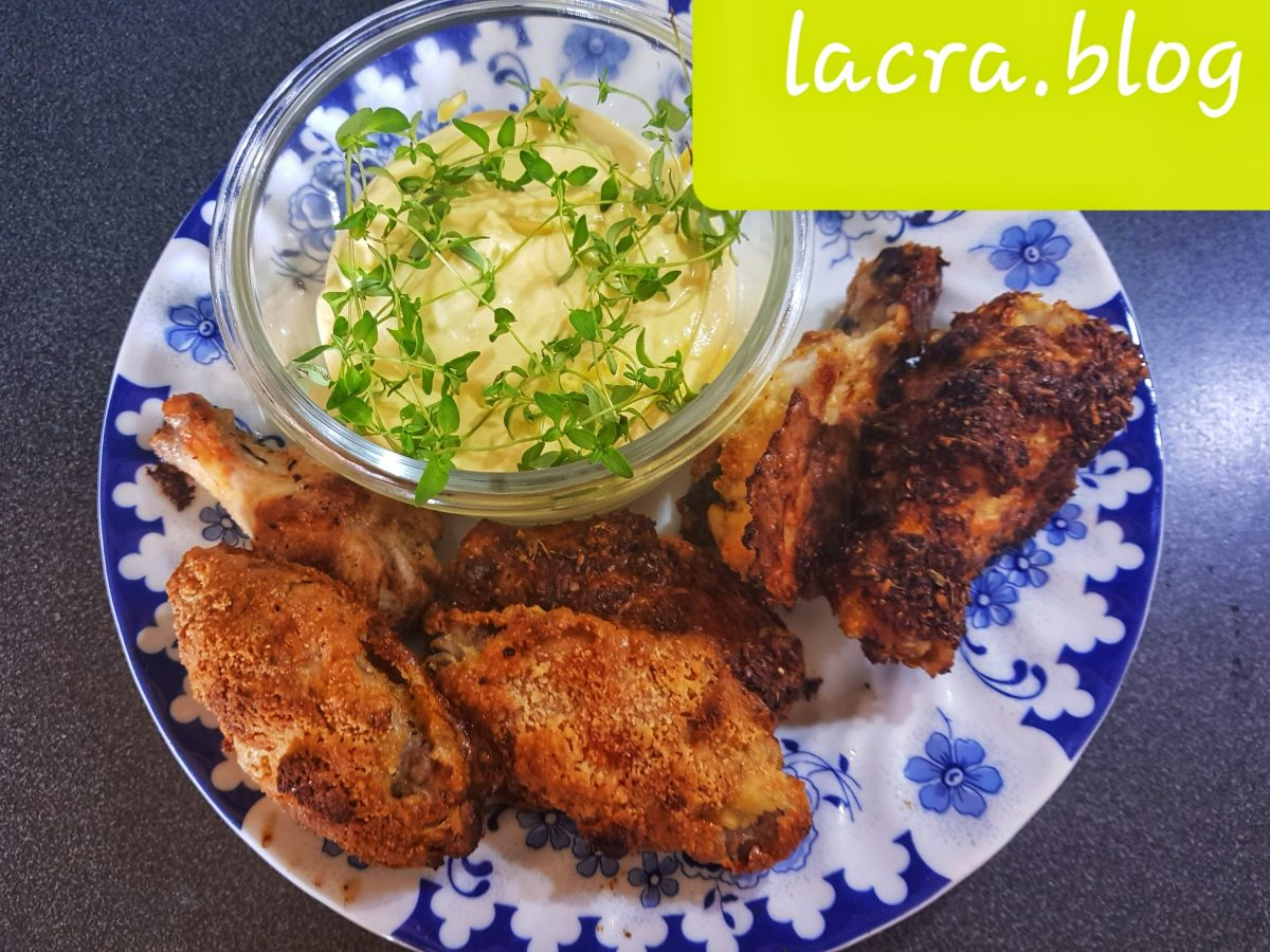 Aripioare crocante low carb